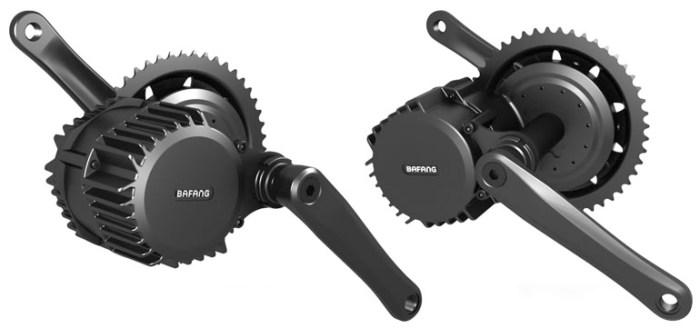 центральный мотор Bafang