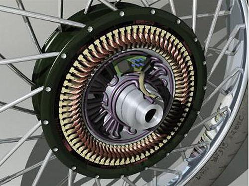 мотор-колесо прямого привода директ-драйв