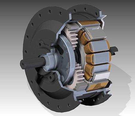 Редукторное мотор-колесо Geared Hub Motor