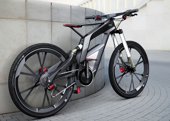 Audi E-Bike Wörthersee Concept электровелосипед