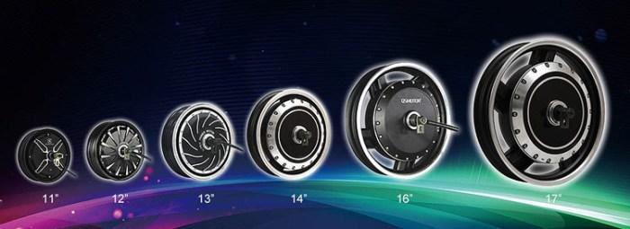QS Motor различные типы директ-драйвов