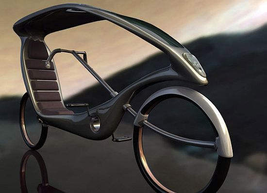 Электровелосипед на солнечной батарее