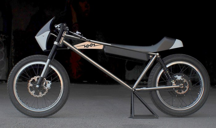 Zooz Concept 01 - легкий электрический мотоцикл