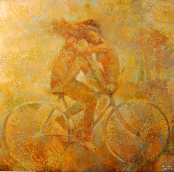любовь велосипед