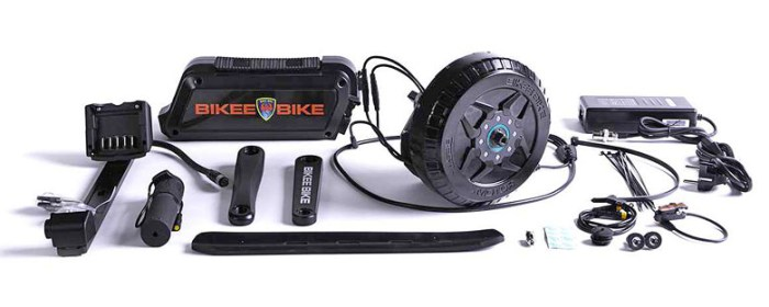 bikeebike комплект для электрификации велосипеда