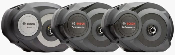 Кареточные электромоторы Bosch Performance Line, Active Line, Performance Line CX.