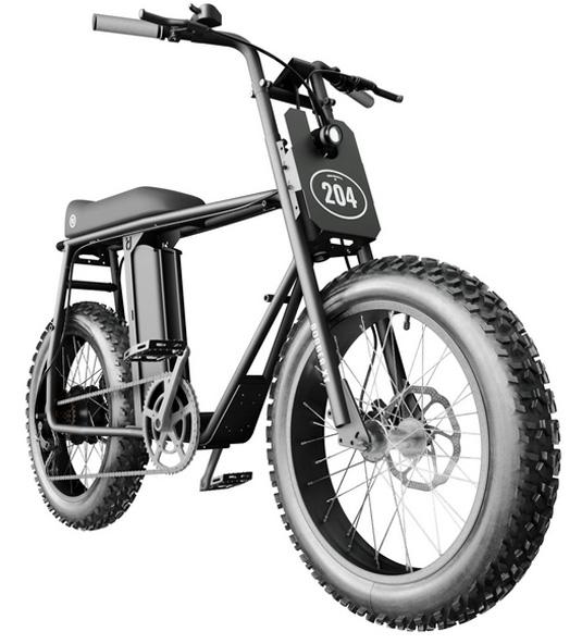 электровелосипед компании Urban Drivestyle -  UNI Bobber Electric Bikes