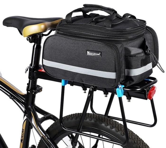 WEST BIKING сумка на багажник велосипеда
