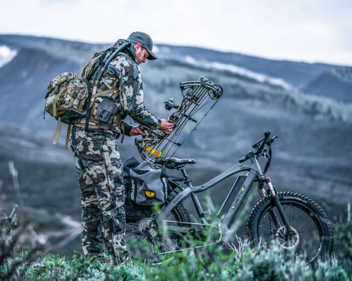 Электровелосипед для охоты