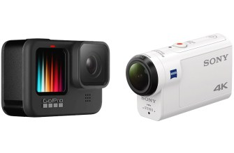 GoPro HERO9 Black & Sony FDR-X3000
