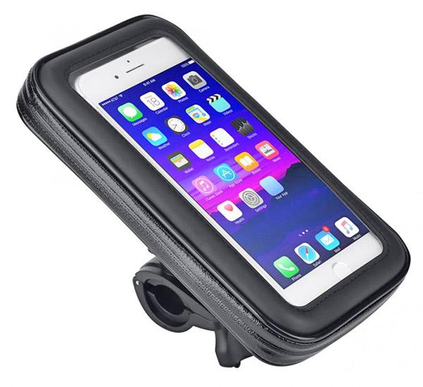 держатель смартфона на руль электровелосипеда электросамоката