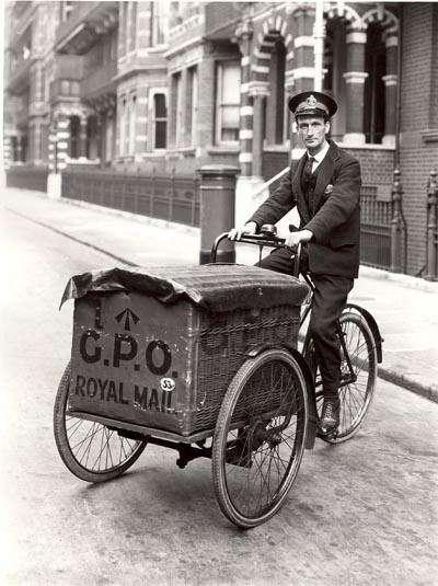 почтовый велосипед 1920