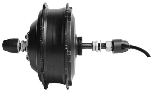 редукторное мотор-колесо DGWX2
