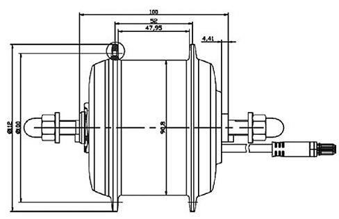 Small Size Brushless Motor Hub