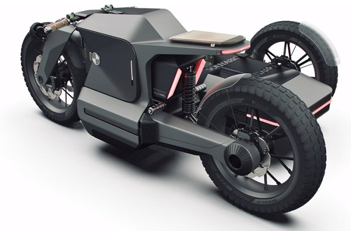 Adventure e-motorcycle