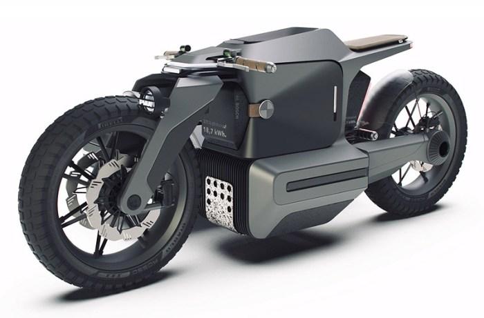 Концепт электромотоцикла с коляской BMW Motorrad x ESMC Off-Road