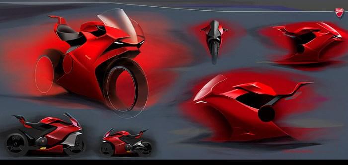 дизайн электромотоцикла