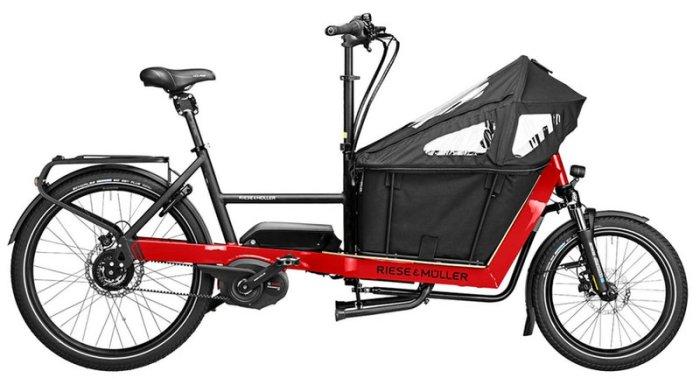 Городской грузовой электрический велосипед Packster 40