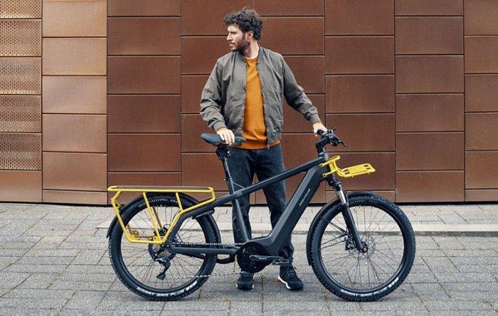 Грузовой электрический велосипед Multicharger