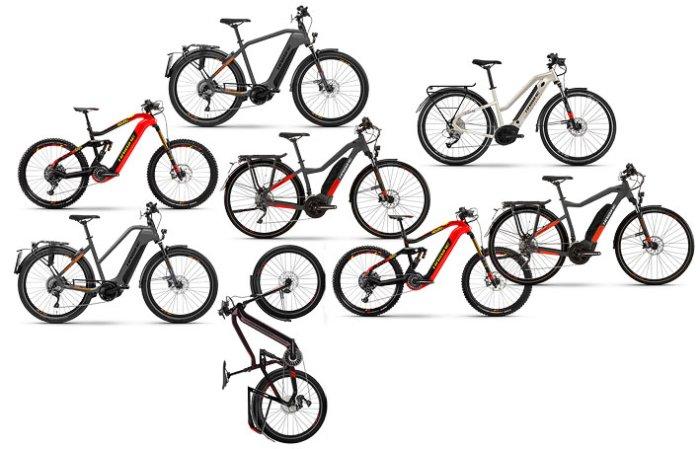Электрические велосипеды Haibike