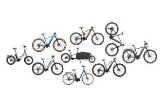 Электровелосипеды CUBE