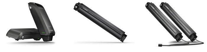 Батареи для электровелосипедов Bosch