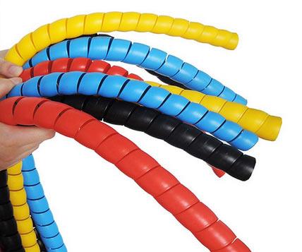 Оплетка кабелей и рулевой стойки