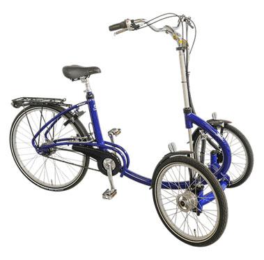 Электрический трицикл Viktor tricycle