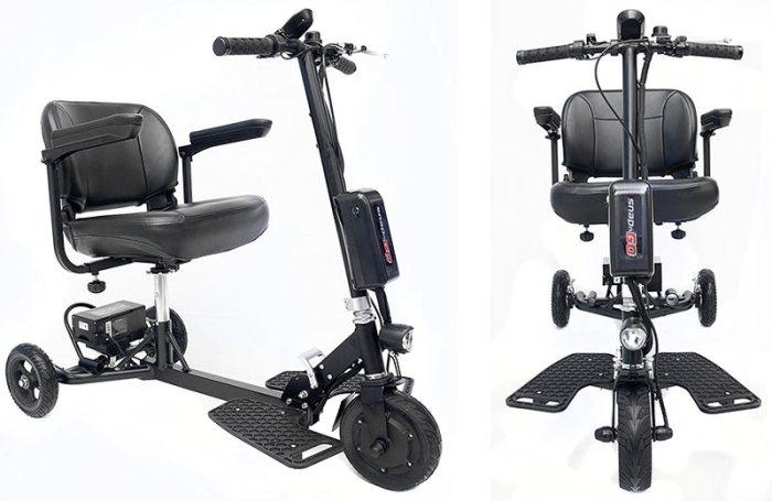 Кресло-электросамокат или Электросамокат для пожилых SNAPnGO Model 325