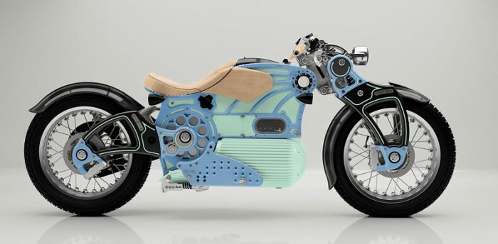 the ONE Curtiss Motorcycles