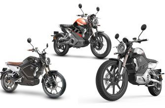 электромотоциклы Super Soco