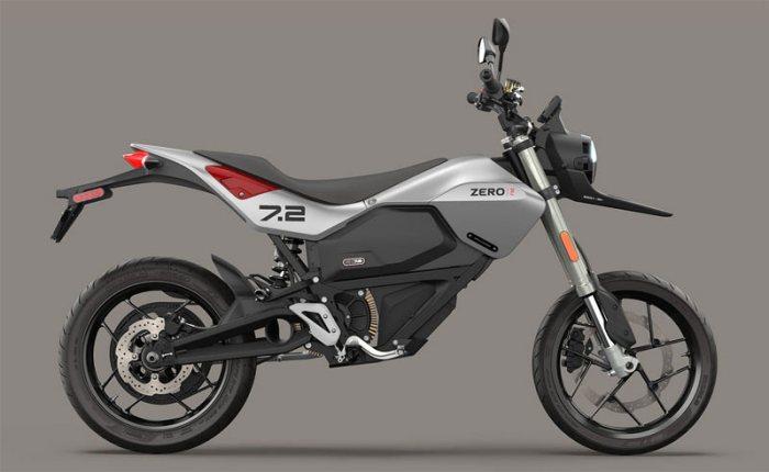 Zero FXE электрический мотоцикл