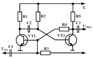 ZHdushchii multivibrator