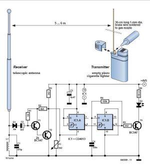 Spark Transmitter Circuit