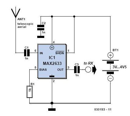 Radio Receiver Antenna Amplifier