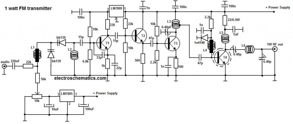 FM Transmitter Circuits