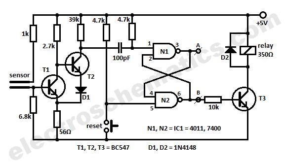 Humidity Sensor Circuit