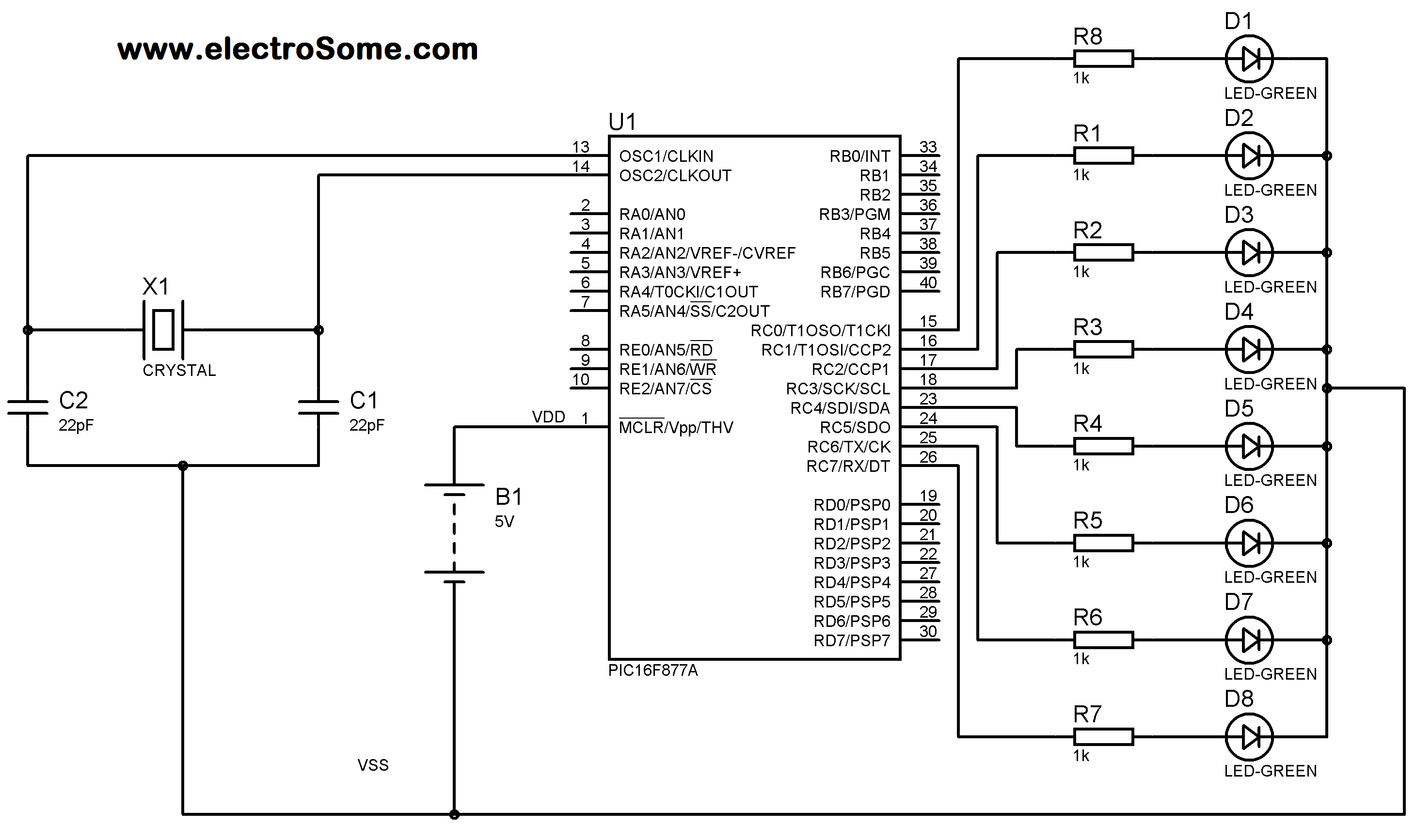 Using Internal Eeprom Of Pic Microcontroller