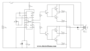 Low Power Square Wave Inverter Circuit using CD4047