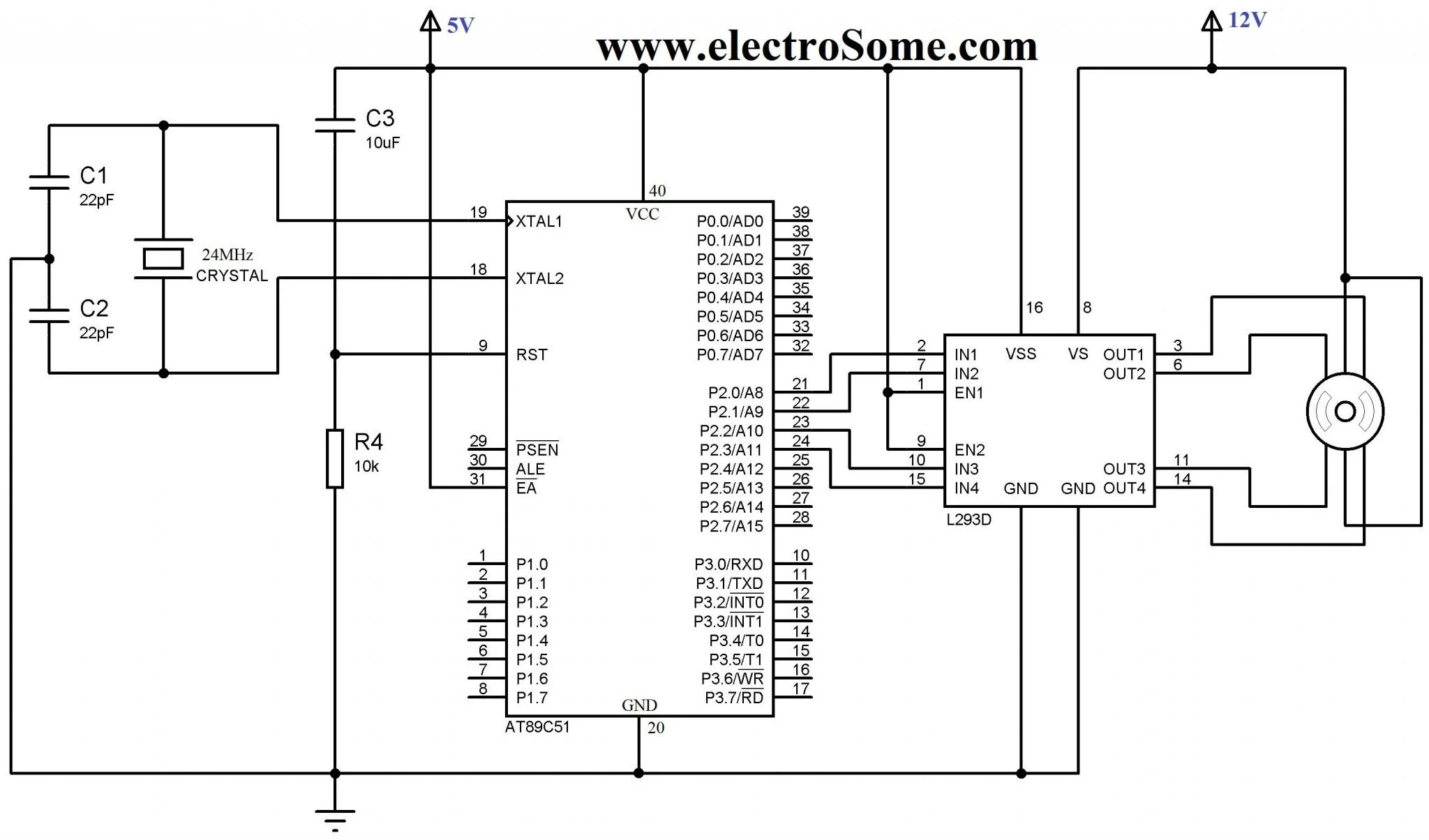 Stepper Motor With Economical Home Lighting