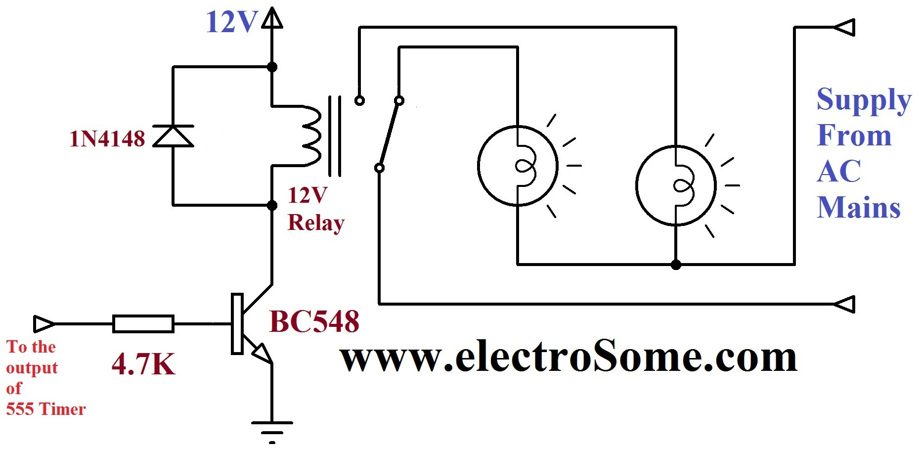 Watch Dog Timer Circuit Schematic