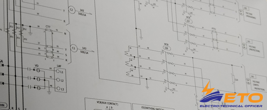 How to read  ships Electrical Diagrams