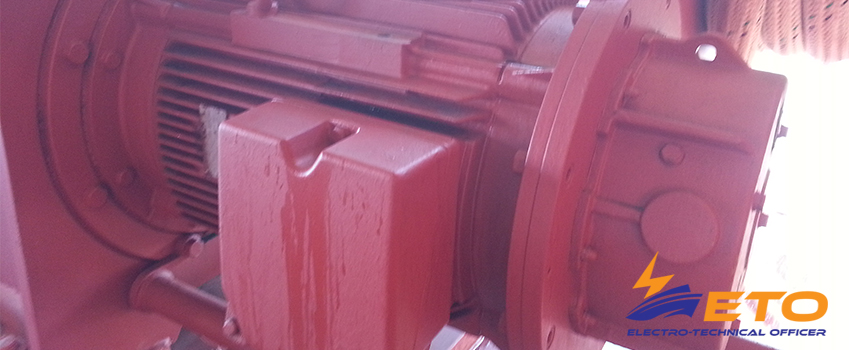Construction of ship's electrical motors