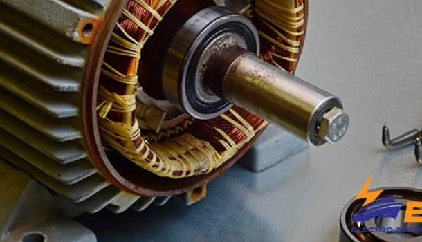 Maintenance Bearings on ship electric motor