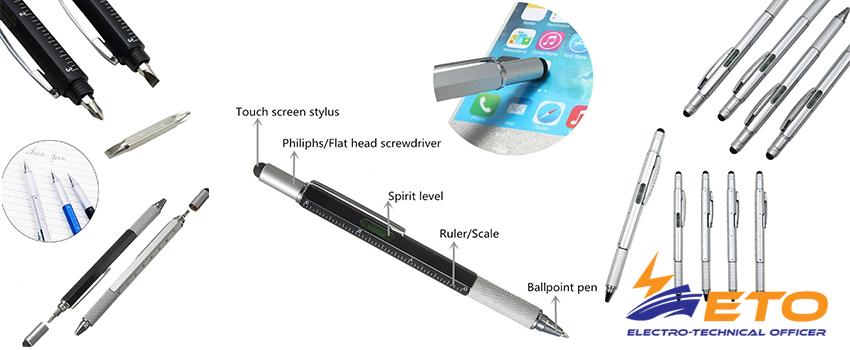 Multifunctional Screwdriver Ballpoint Pen
