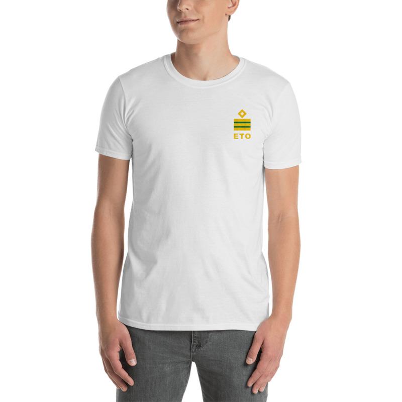 Electro Technical Officer (ETO) working shirt with ship ETO rank 5