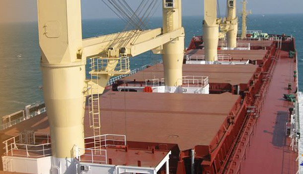 Ship crane bypassed limit switches cause big accident