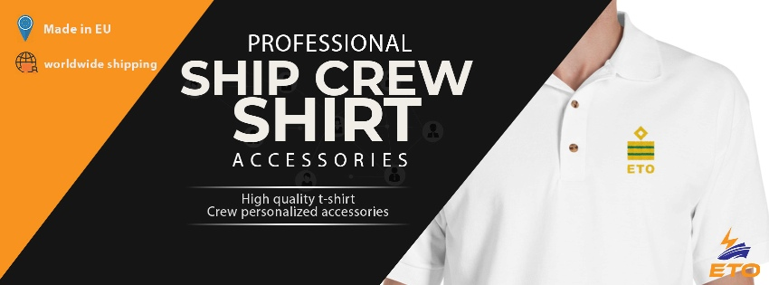 uniform for crew on ship with gold rank
