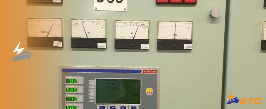 Ship system voltage regulation, and voltage deviation on power system