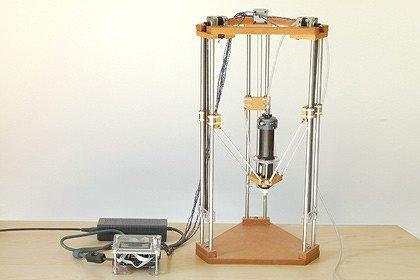 Ceramic delta printer